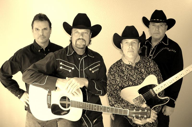 [The California Cowboys are: left to right, Hal, Robert, Gary, and Cary]